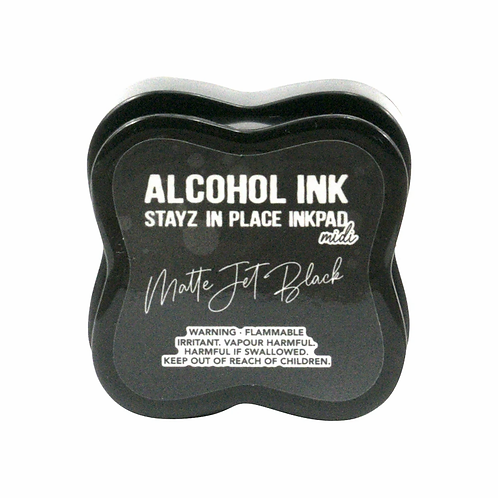 Stayz in Place Alcohol Ink Pad - Jet Black Midi
