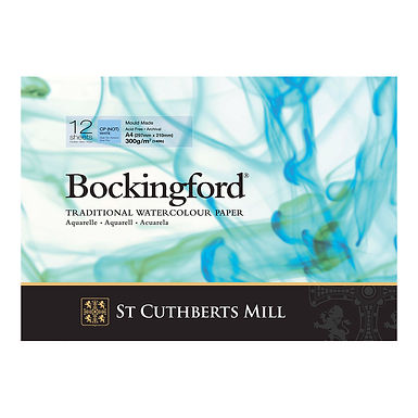 Bockingford Traditional Watercolour Paper Pad - A4 - 12 Sheets