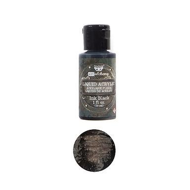 Art Alchemy – Liquid Acrylics – Ink Black –  30ml