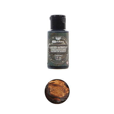 Art Alchemy – Liquid Acrylics – Umber –  30ml