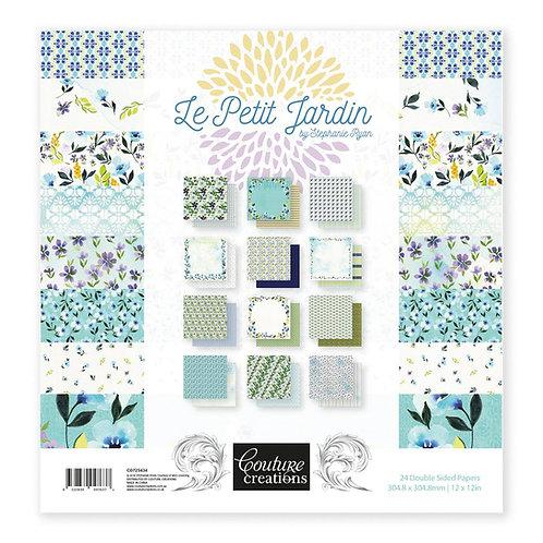 Couture Creations - Le Petit Jardin 12x12 Paper Pad