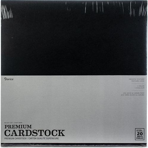 Darice® Premium Cardstock 12 x 12 - Black Cat