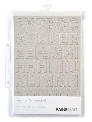 Kaisercraft® Alpha Chipboard - Style 2