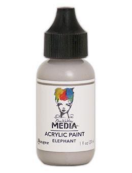 Dina Wakley® Media Acrylic Paint 1oz - Elephant