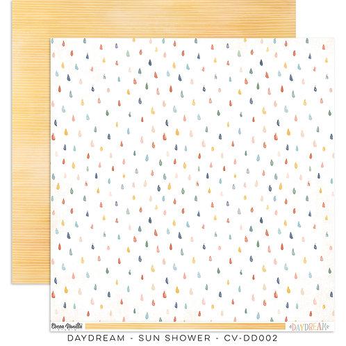 Cocoa Vanilla® Daydream - 12 x 12 Paper - Sun Shower