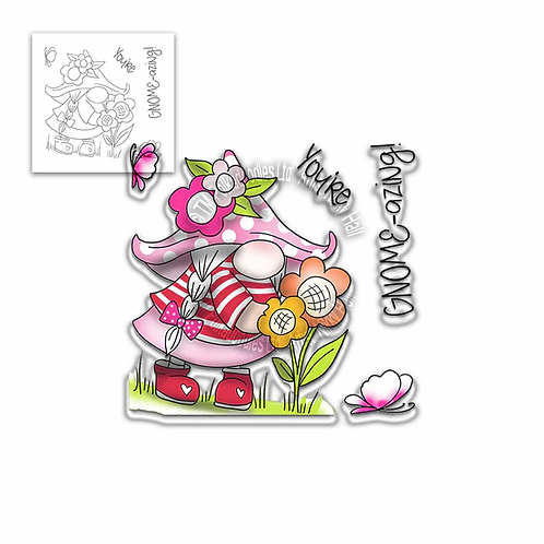 You're Gnome-azing stamp set by Polkadoodles®