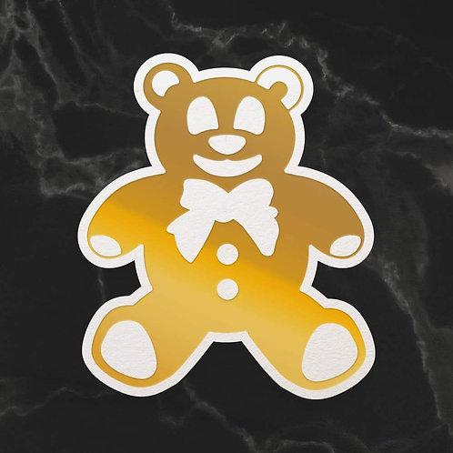 Mini Cut, Foil & Emboss Die - Dazzlia - Teddy Silhouette (1pc)
