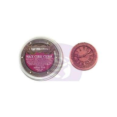 Art Alchemy - Metallique Wax - Indian Pink