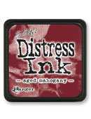 Tim Holtz® Mini Distress Ink Pad -aged mahogany