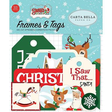 Carta Bella® Santas Workshop Ephemera