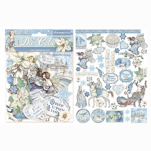 Stamperia® Die Cuts - Winter Tales