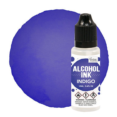Couture Creations Alcohol Ink - Indigo