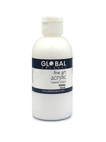 Global Artist Acrylic - White