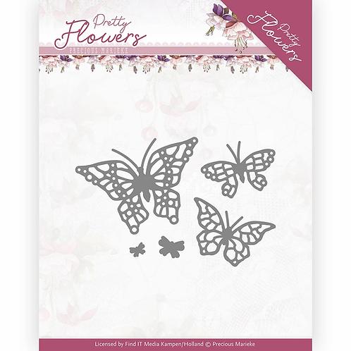 Precious Marieke - Pretty Flowers - Pretty Butterfly dies