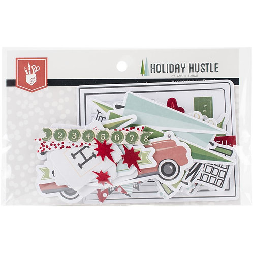 Fancy Pants® Ephemera - Holiday Hustle