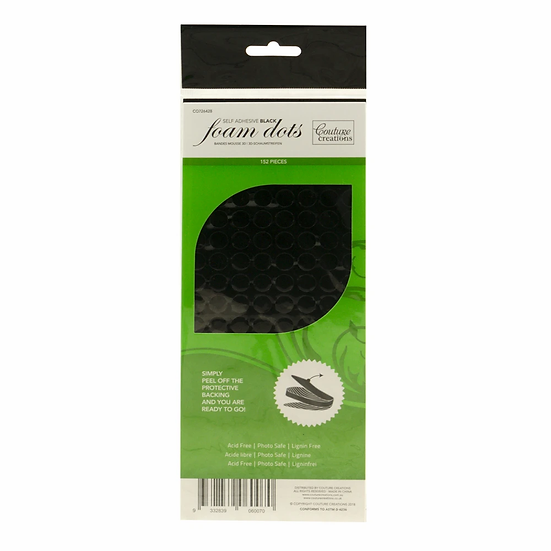 3d Foam Adhesive Dots - Black