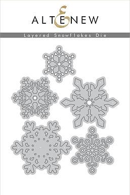 Altenew® Layered Snowflake Die Set