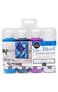 American Crafts Color Pour Kit - Galaxy