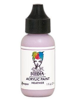 Dina Wakley® Media Acrylic Paint 1oz - Heather