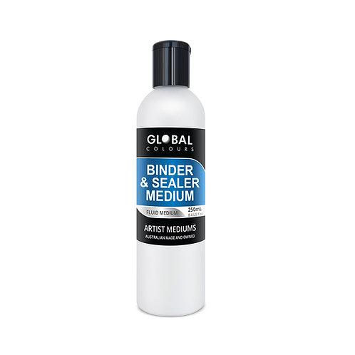 Global Binder & Sealer 250ml Medium Professional