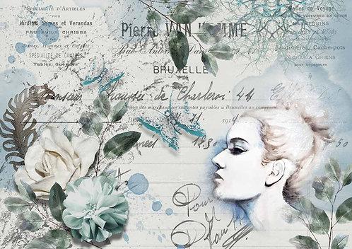 Decoupage Queen® Decoupage Paper -Spring Portrait