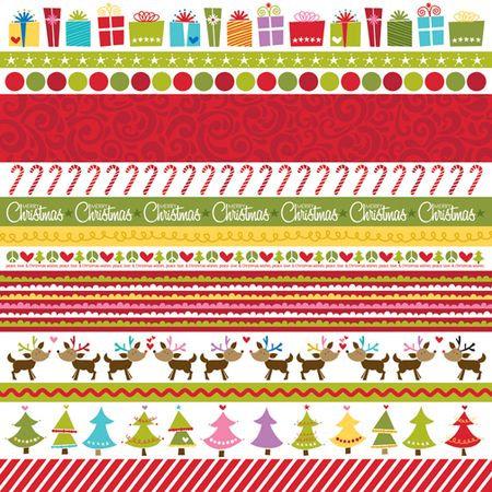 Bella Blvd Christmas Wishes - Borders 12 x 12