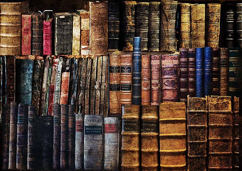 Decoupage Queen® Decoupage Paper -Dusty Library