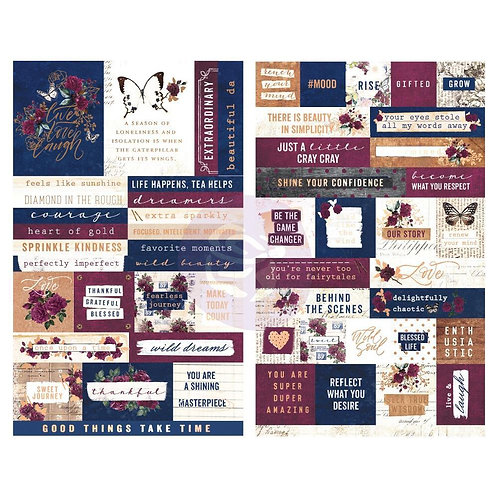 Darcelle quotes and words stickers