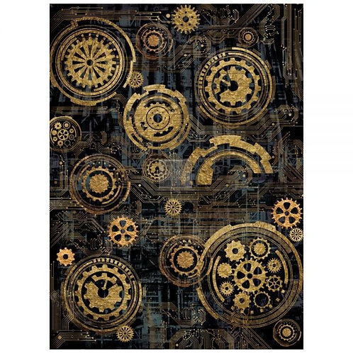 Redesign Décor Transfers® – Mechanical 22″x 30″