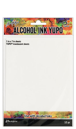 Ranger Alcohol Ink Yupo - Translucent - 10 Sheets
