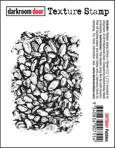 Darkroom Door Texture Stamp - Pebbles