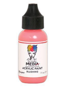 Dina Wakley® Media Acrylic Paint 1oz - Blushing