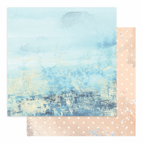 Couture Creations - Seaside Girl - Sheet 5 - 12 x12 Double Sided - 200gs