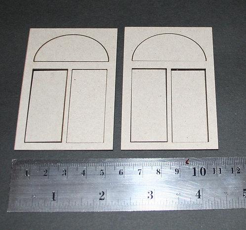 2Crafty Chipboard - ATC Window Frames