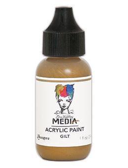 Dina Wakley® Media Acrylic Paint 1oz - Gilt