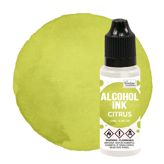 Couture Creations Alcohol Ink - Citrus