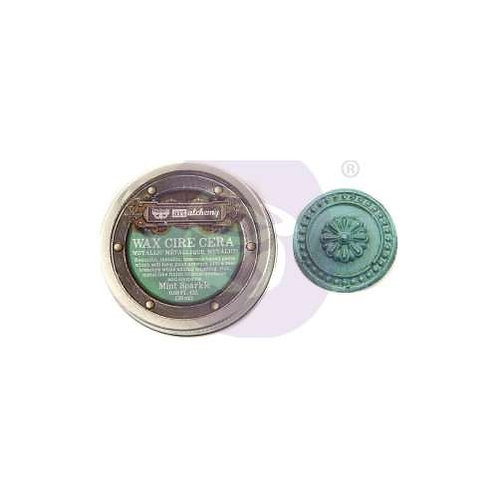 Art Alchemy - Metallique Wax - Mint Sparkle