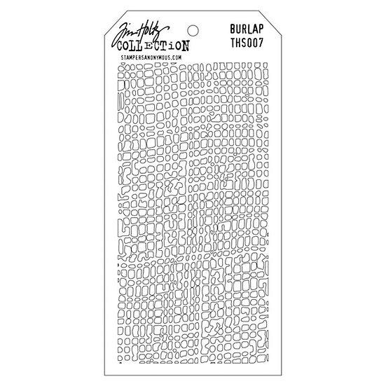 Tim Holtz® Layering Stencil - Burlap