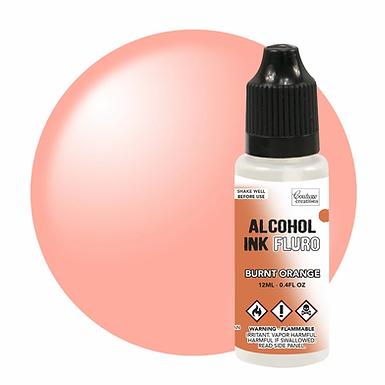 Couture Creations Alcohol Ink Fluro - Burnt Orange