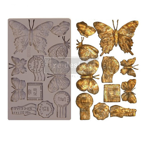 Redesign Decor Moulds® – Butterfly In Flight