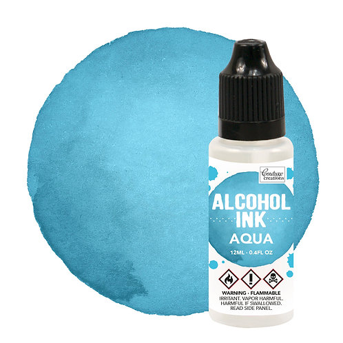 Couture Creations Alcohol Ink - Aqua/Clear Sky