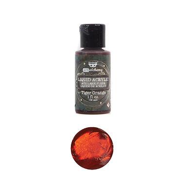 Art Alchemy – Liquid Acrylics – Tiger Orange –  30ml