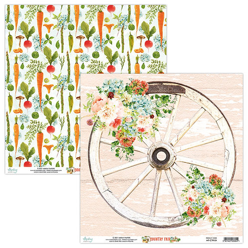 Country Fair - 04 - 12 x 12  -  Paper by Mintay Papers