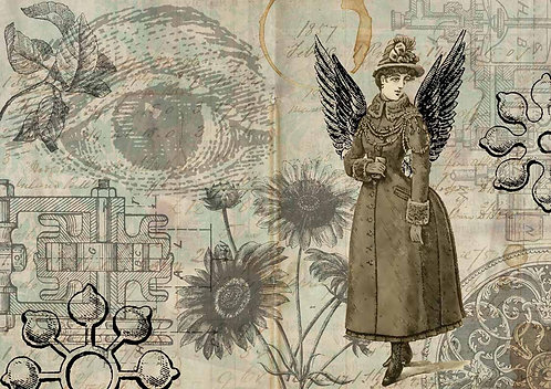 Decoupage Queen® Decoupage Paper - Give me Wings
