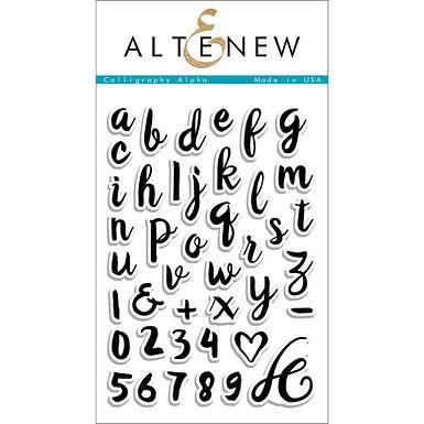Altenew® Calligraphy Alpha Stamp