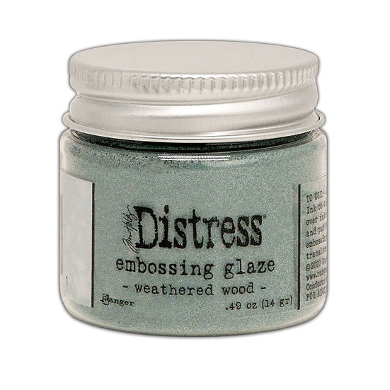 Tim Holtz® Distress Embossing Glaze - Weathered Wood