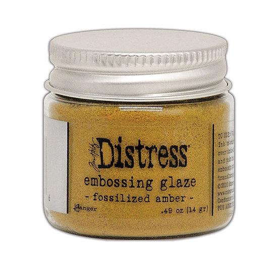Tim Holtz® Distress Embossing Glaze - Fossilized Amber