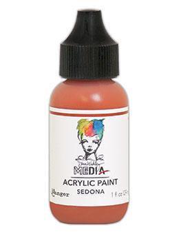 Dina Wakley® Media Acrylic Paint 1oz - Sedona