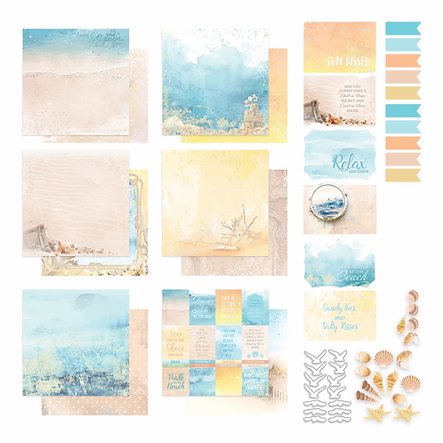 Couture Creations® - Seaside Girl - 200gsm - Collection Pack