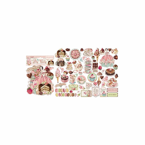 Stamperia® Die Cuts - Sweety